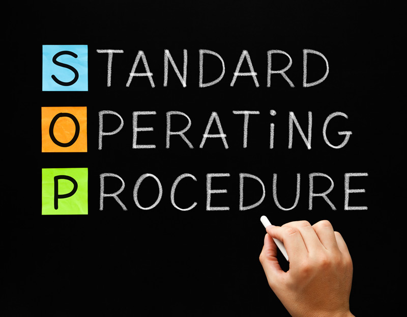 Standard Operating Procedures (SOPs) Designing